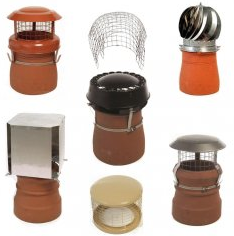 we can supply and install chimney pots and cowls to suit your needs.
